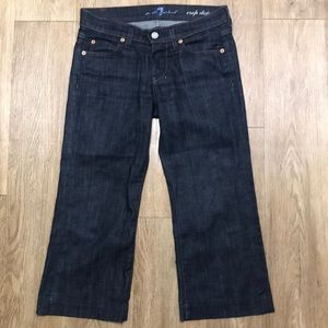 7 For All Mankind Jeans - 7 for all Mankind crop Dojo Jeans size 24